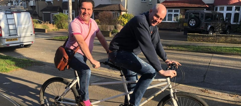 Our Charity Ride to Amsterdam